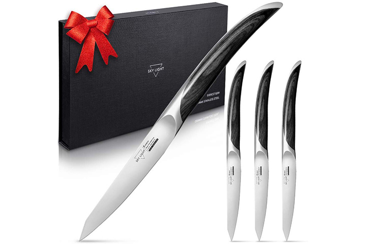 Sky Light Steak Knife Gift Set