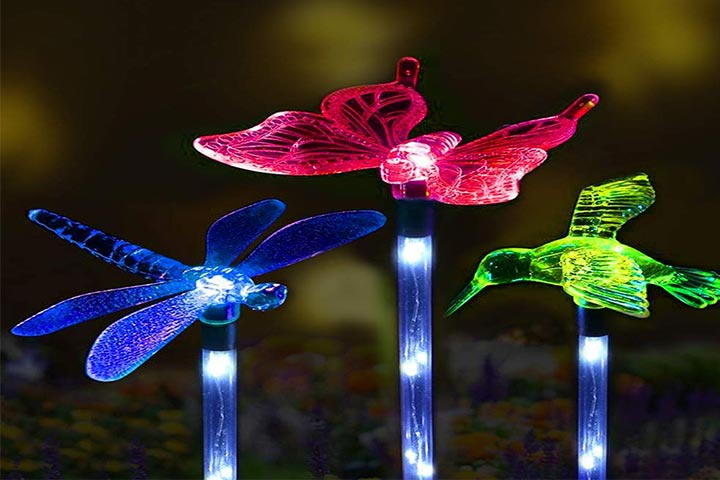 Sooreally garden solar lights