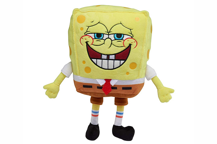 SpongeBob SquarePants Officially Licensed Exsqueeze Me Plush