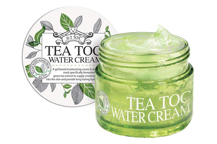 Teatoc Green Tea Water Cream