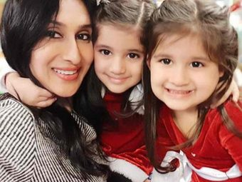 Teejay Sidhu Posts An Emotional Note On Being A Mother To Twins Bella And Vienna