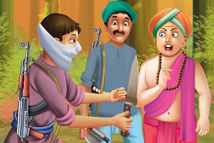 Tenali Rama And The Two Foolish Thieves