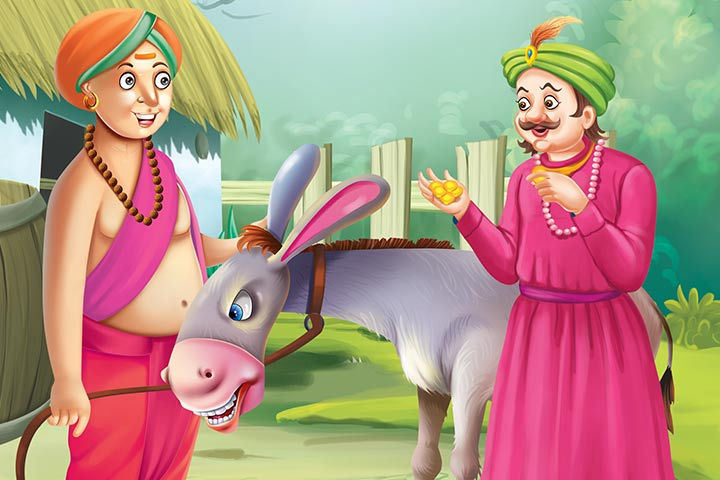 Tenali Rama Salutes The Donkey