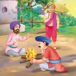 Tenali Rama Story Bragging Soldiers Around The Campfire