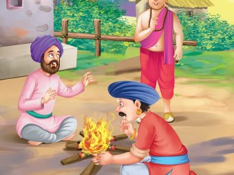 Tenali Rama Story: Bragging Soldiers Around The Campfire
