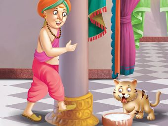 Tenali Rama Story: Tenali Rama And The Cat