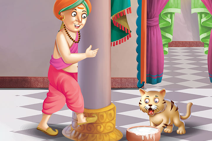 Tenali Rama Story Tenali Rama And The Cat