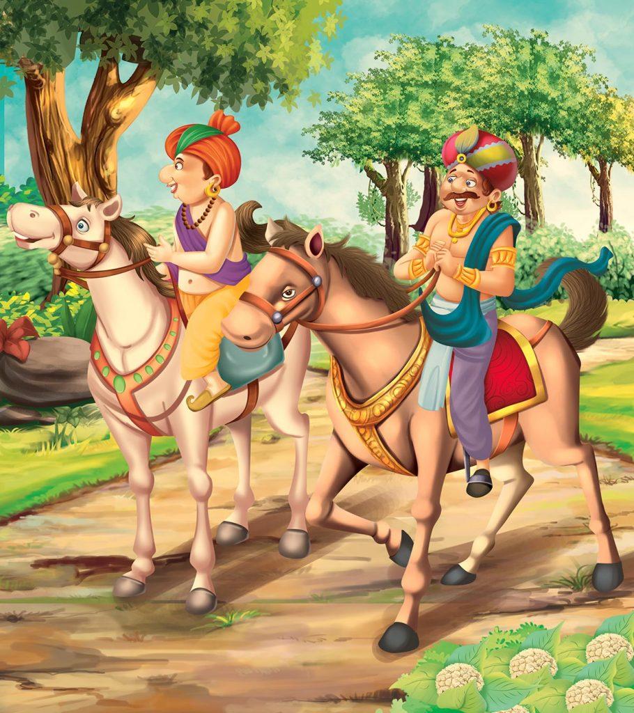Tenali Rama Story: Tenali Rama And The Hungry Horse