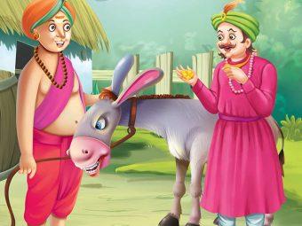 Tenali Rama Story: Tenali Rama Salutes The Donkey