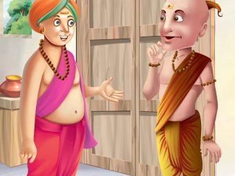 Tenali Rama Story: Thathacharya, Demon Chanting Hymns