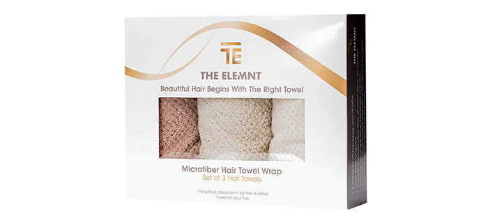 The Elemnt Microfiber Hair Towel