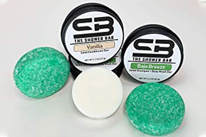 The Shower Bar Baja Breeze Combo Travel Pack