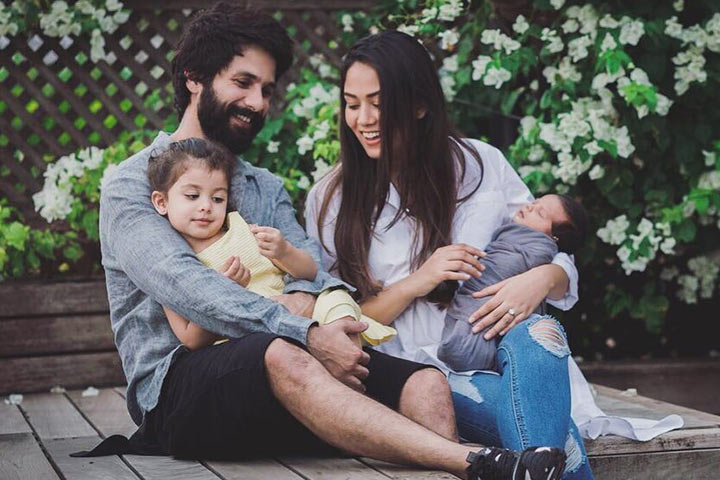 Times When Mira Rajput Went Gaga Over Her Kids