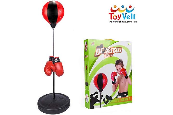 ToyVelt punching bag for kids set