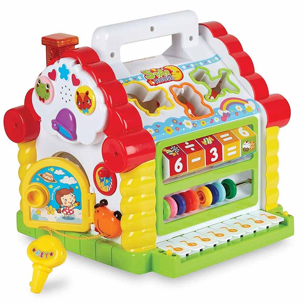 Toyshine Learning House Baby Activity Play Centre