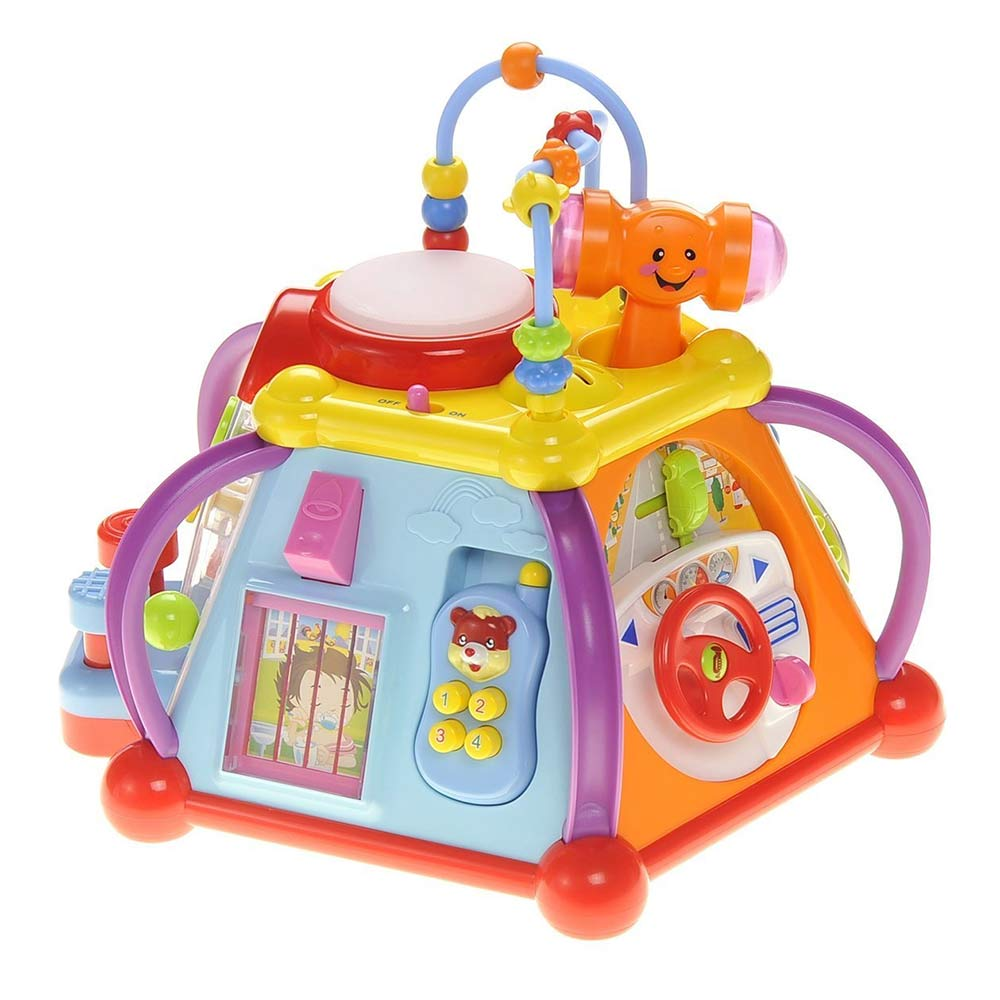 Toyshine Multifunctional Learning Play Center with Drum