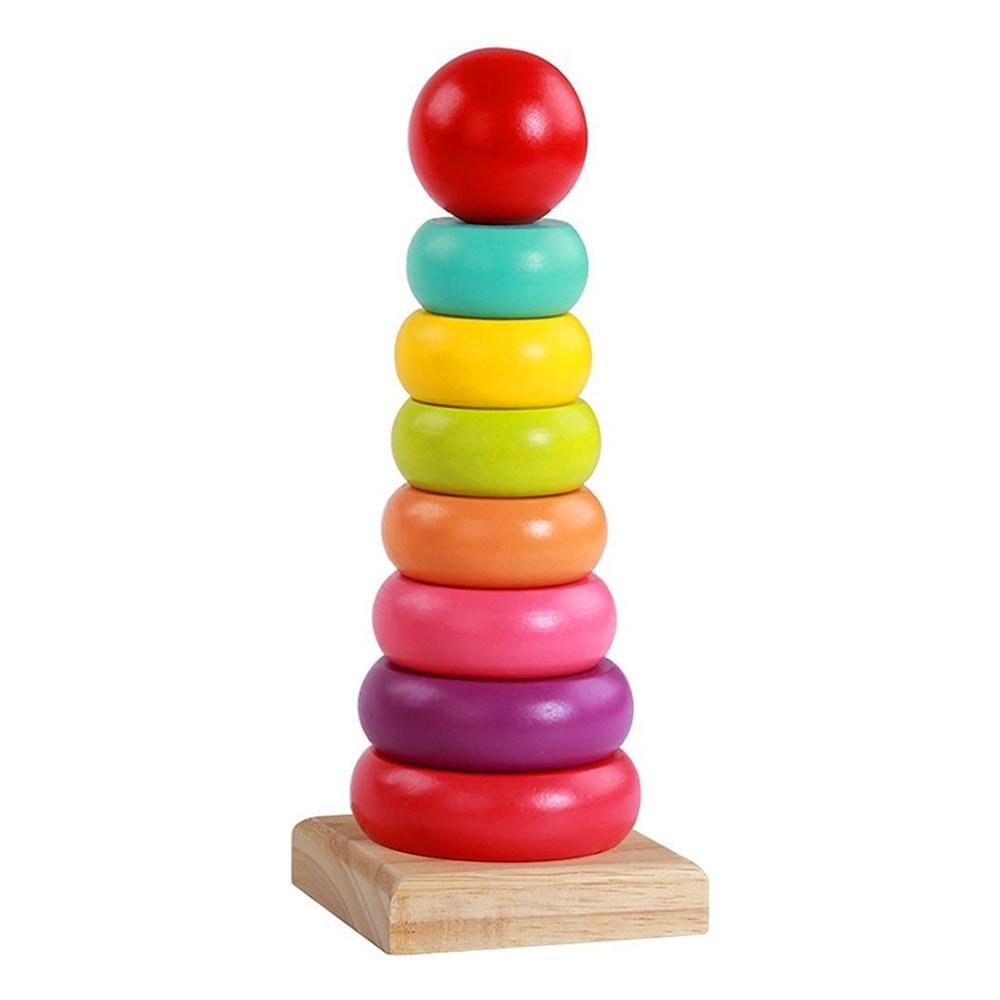 Toyshine Rainbow Stacking Rings