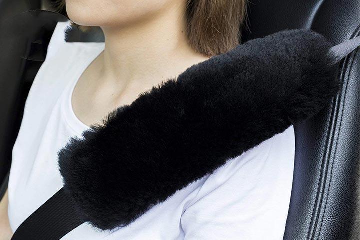 U&M High-Density Wool Seat Belt Cover