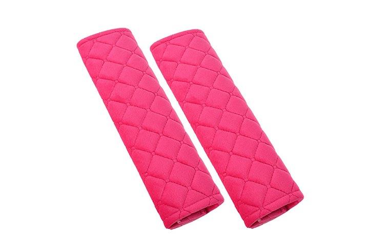 U&M Seat Belt Covers With Soft Velvet Feel