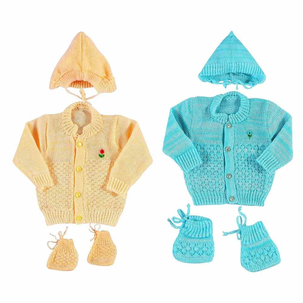 Vadmans New Born Baby Woollen Knitted