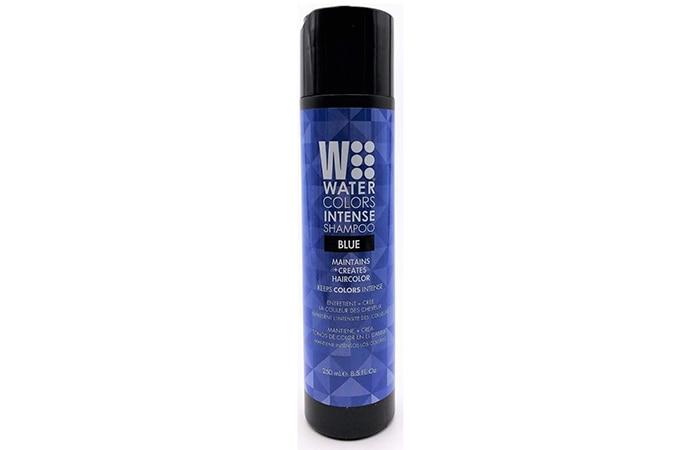 WaterColors Blue Shampoo