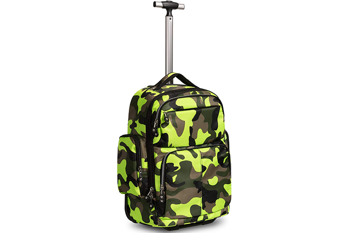 Wheeled Rolling Laptop Backpack