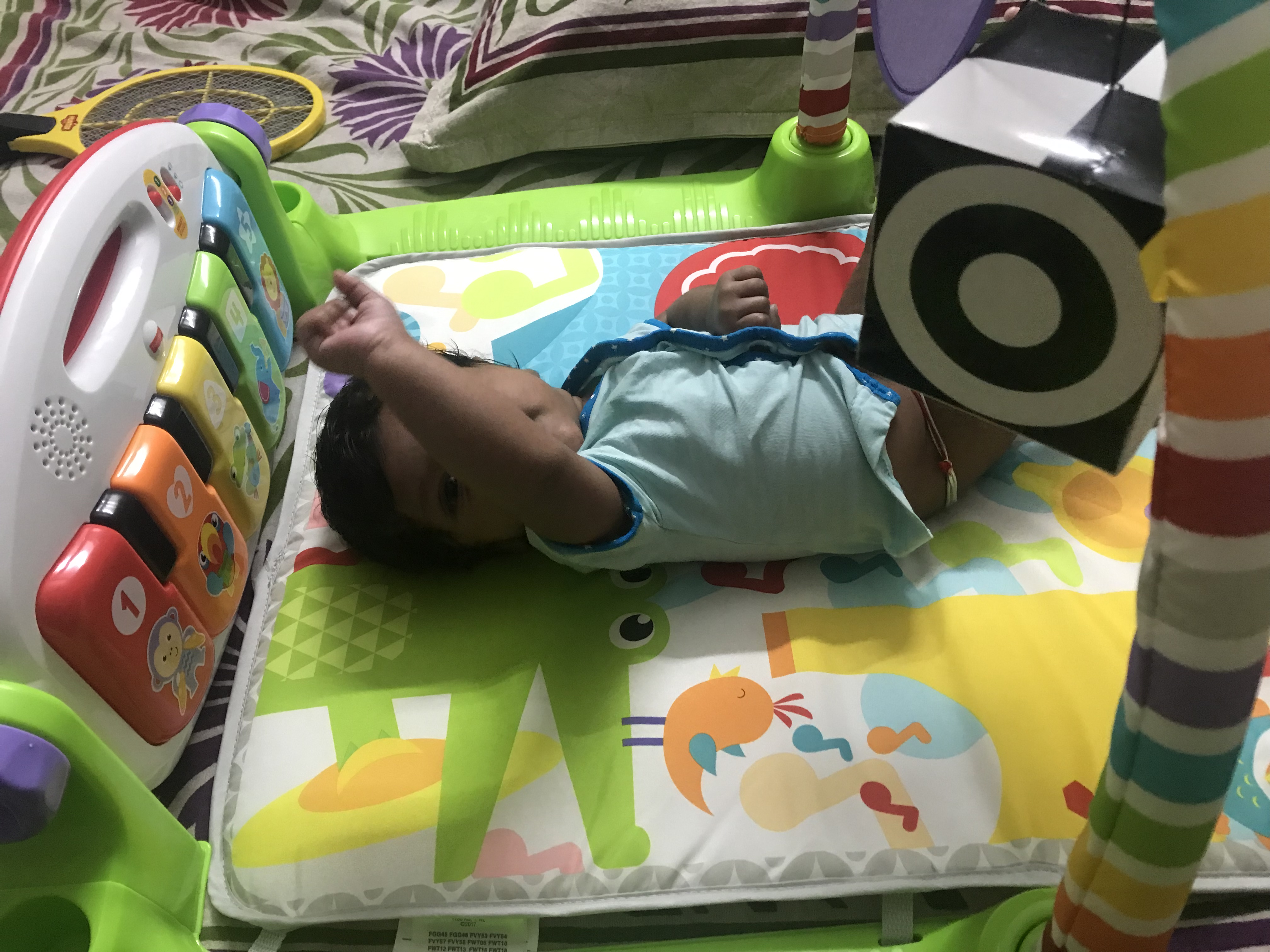 Luvlap Baby Piano Themed Playgym-LuvLap play gym-By dharanirajesh16