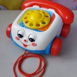 Fisher Price Pull Along Chatter Toy Telephone-Fisher price telephone toy-By dharanirajesh16