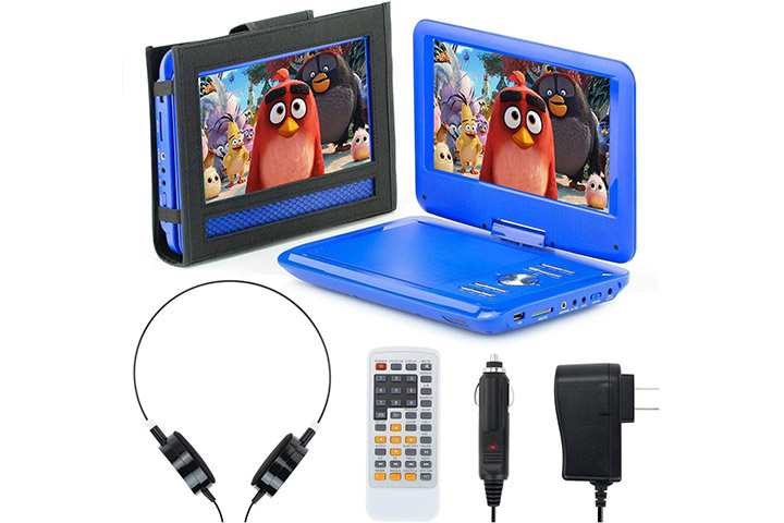eXuby 11.5 Portable DVD Player