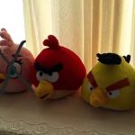 Angry Birds Soft Toys Pack-Soft toy angry birds-By reshmashenoy