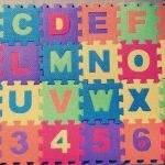 FunBlast Alphabet and Number Interlocking Mat Puzzle-Mat puzzle-By anita_jadhav_dhamne