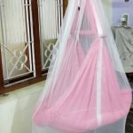 V Parents Infant Baby Swing Cradle With Mosquito Net & Spring-Mosquito net-By anita_jadhav_dhamne