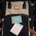 Vismiintrend Waterproof Diaper Bag With Insulated Pockets-Multipurpose diaper bag-By kalyanilkesavan