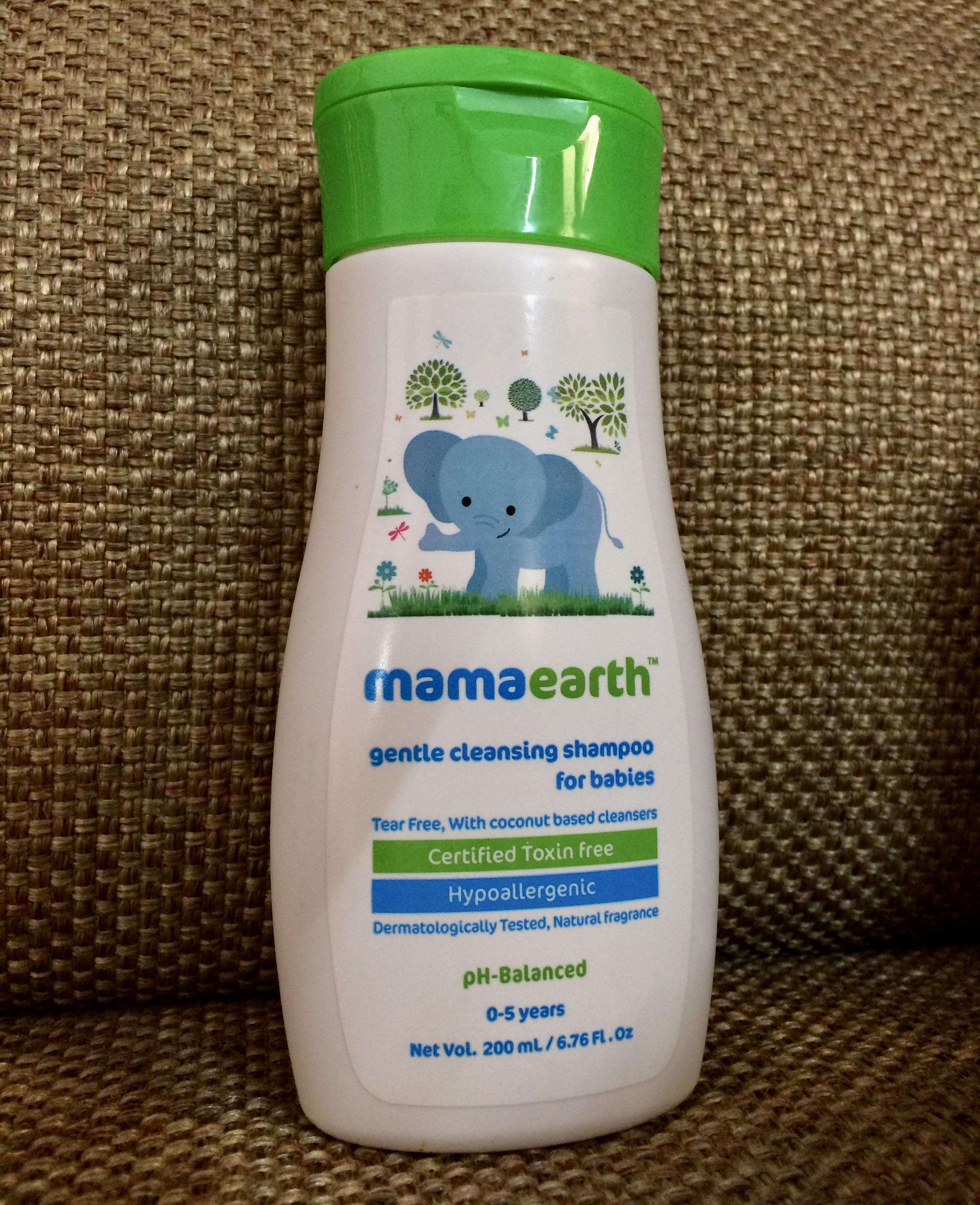 Mamaearth Gentle Cleansing Shampoo For Babies-Good choice-By deepashree14