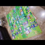 Paramount Anti Skid Double Sided Play Mat Alphabet Print-Nice for kids play-By sumi