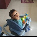 Sunbaby Ride-On Walker With Play Tray-Nice Walker-By sumi