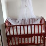 Babyhug Florence Wooden Cot Cum Rocker With Storage Space-Nice cot-By sumi