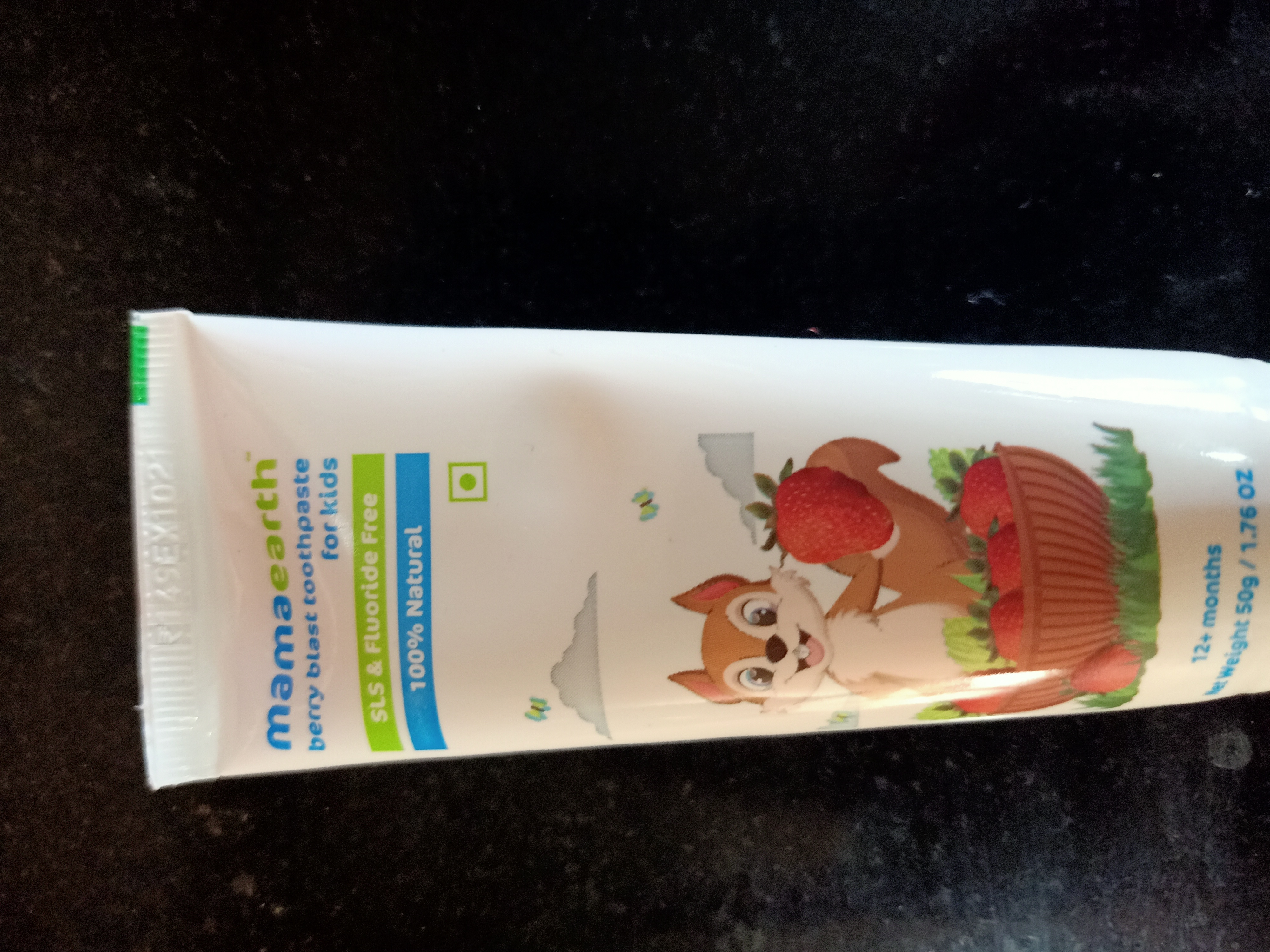 Mamaearth Baby's Natural Berry Blast Toothpaste-Great kids toothpaste-By akki2019