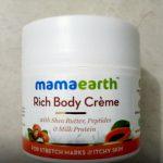 Mamaearth Stretch Marks Cream-No strech marks-By asiya0115