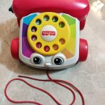 Fisher Price Pull Along Chatter Toy Telephone-Fisherprice phone-By asiya0115