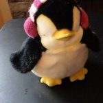 Dimpy Stuff Penguin With Ear Muffs-Super cute penguin-By sumi