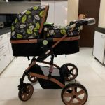 Babyhug 2 in 1 Royal Ride Stroller Cum Convertible Carry Cot-Nice stroller-By sumi