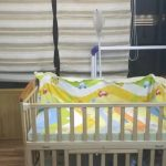 Babyhug Chester 3 in 1 Rocking Cot Cum Junior Bed With Mattress-Lovely bed-By sumi