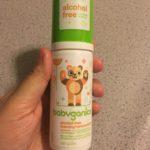 Babyganics Alcohol-Free Foaming Hand Sanitizer-Best sanitizer-By sumi