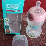 U-Grow Wide Neck Baby Feeding Bottle-Comfortable for my baby-By sumi