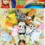 Kuhu Creations Animal Finger Puppets Pack-Nice product for baby play-By jigna1234