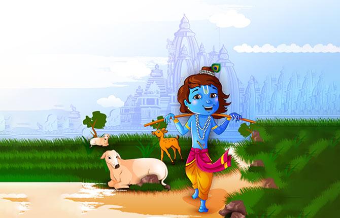 shri krishna aur aristasura vadh
