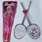 Barbie Badminton Racket With Cover-Barbie rackets-By anita_jadhav_dhamne
