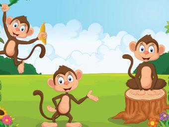 बंदर और लकड़ी का खूंटा | The Monkey and The Wedge Story In Hindi