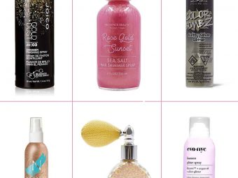 15 Best Glitter Hair Sprays To Buy In 2020